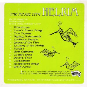 Helium – The Magic City