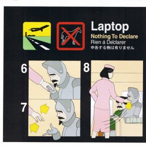 Laptop – Nothing To Declare